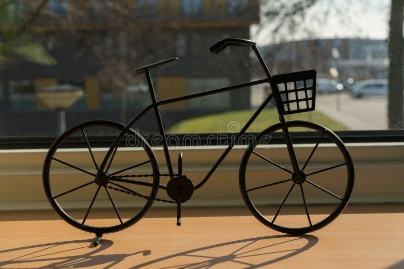 Macro black bike close up material art graphic. royalty free stock photography
