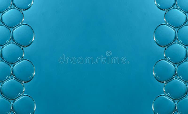 Macro bolle in acqua fotografie stock libere da diritti
