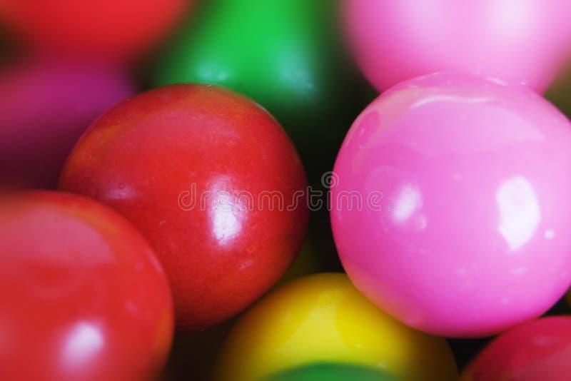 Macro bubble-gum photos stock