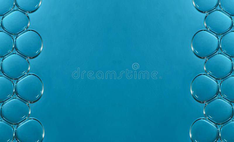 Macro bubbles in water royalty free stock photos