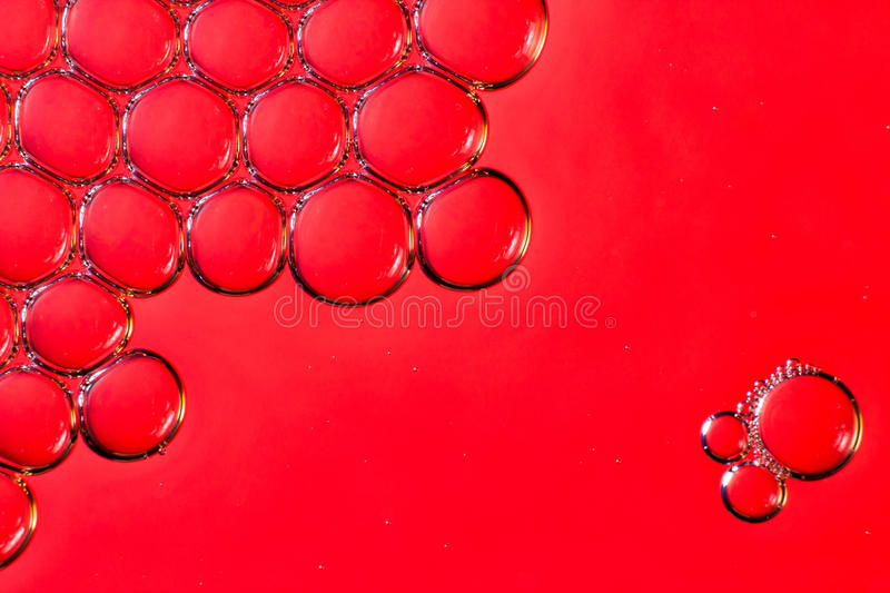 Macro bubbles in water royalty free stock images