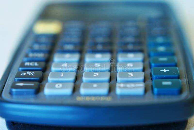 Macro calcolatore immagini stock
