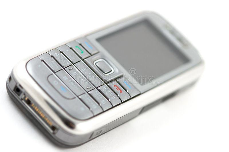 Download Macro of cellular phone stock photo. Image of communication - 7358700