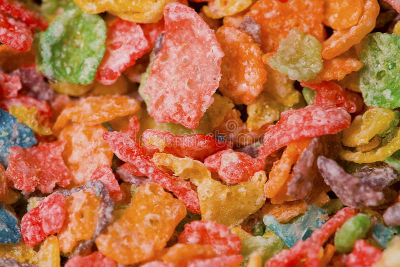 Download Macro Cereal stock image. Image of snack, spoon, cereal - 8328509