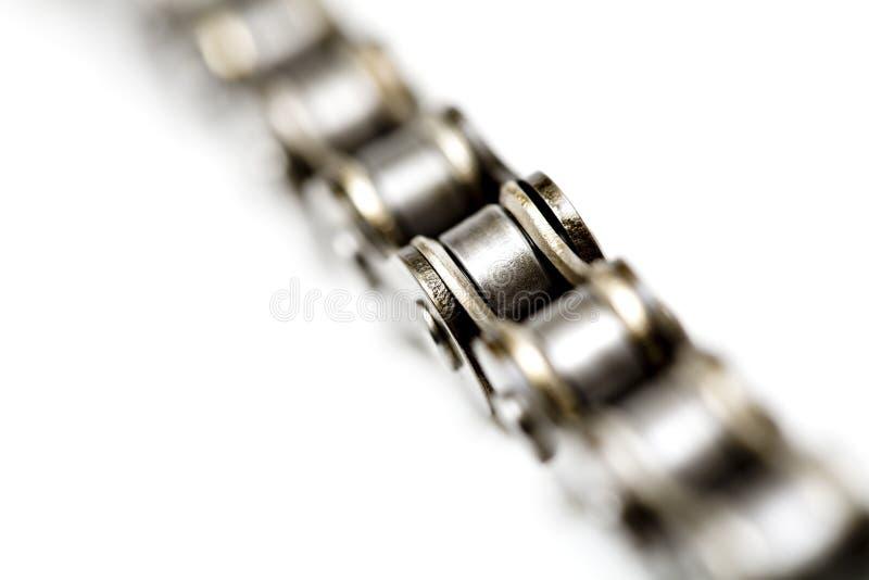 Macro Chain isolado imagem de stock royalty free