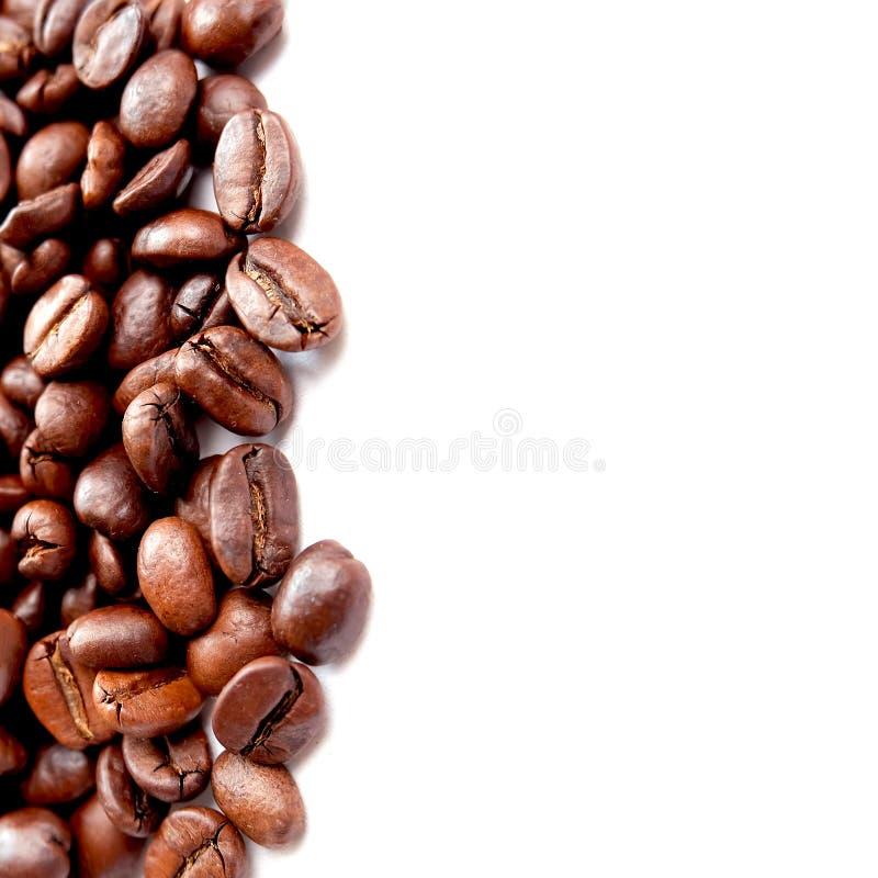 Macro chicchi di caff? panoramici immagini stock libere da diritti