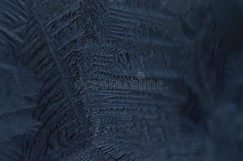 Macro close up of ice particles texture snow freezing stock images