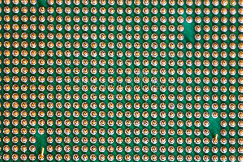 Download Macro Of Cpu Processor Royalty Free Stock Photo - Image: 19500705