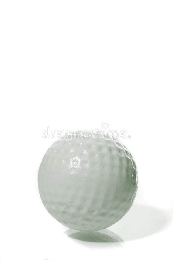 Macro da esfera de golfe foto de stock royalty free