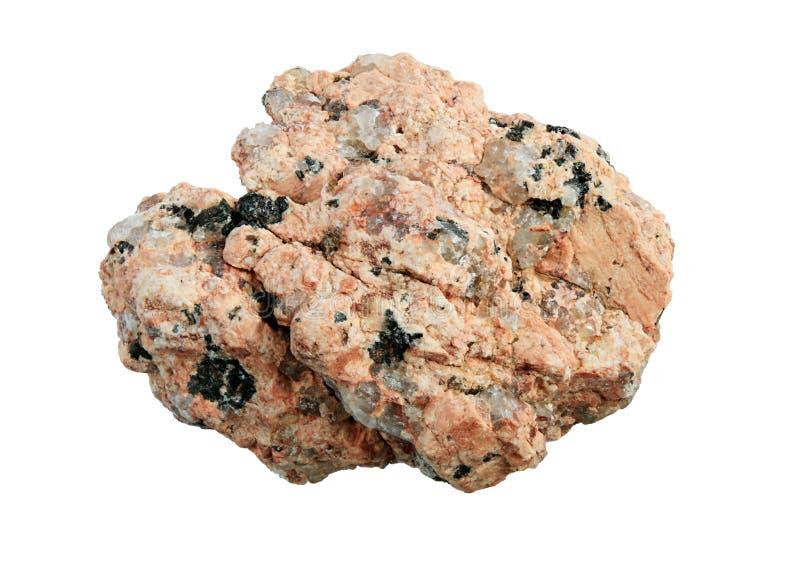 Macro de la roca del granito imagen de archivo libre de regalías