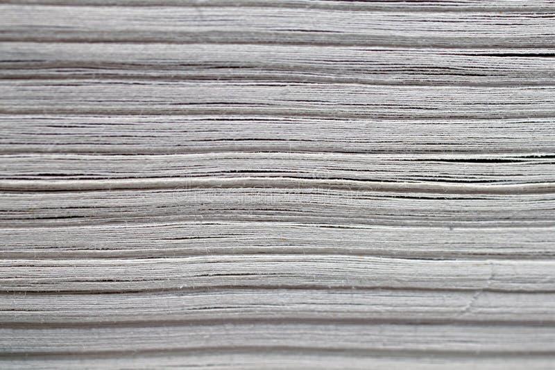 Macro de la textura de las páginas del libro fotografía de archivo libre de regalías