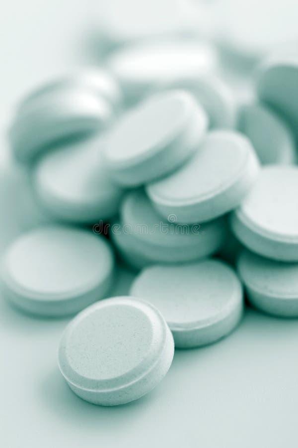 Macro de las píldoras de la prescripción fotos de archivo libres de regalías