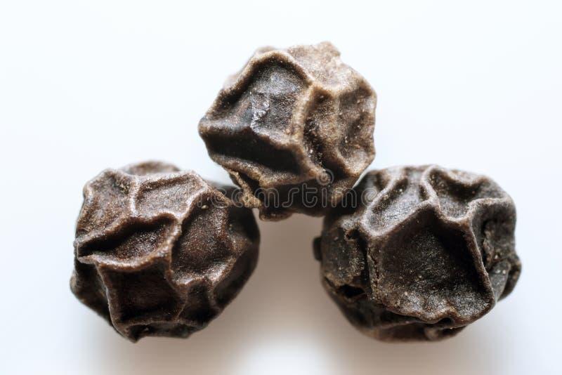 Macro de sementes da pimenta imagens de stock royalty free