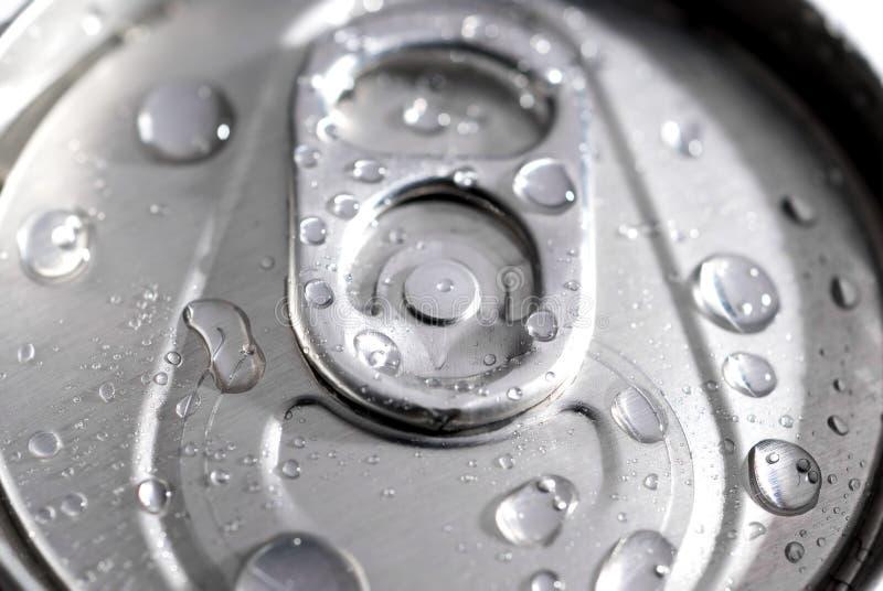 Macro De Uma Lata Da Soda Foto De Stock Grátis