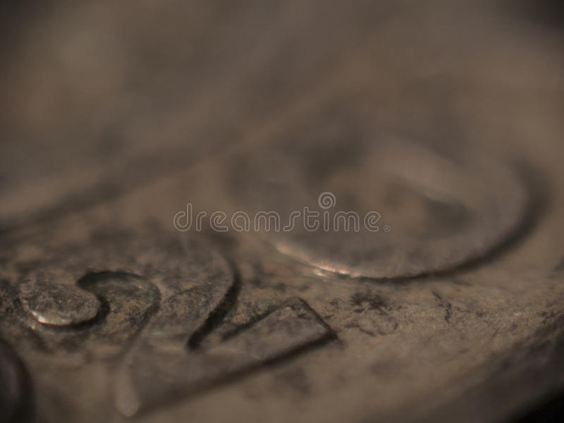 MACRO: Deense 20 kronen royalty-vrije stock foto's