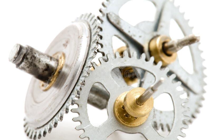 Macro del mecanismo foto de archivo