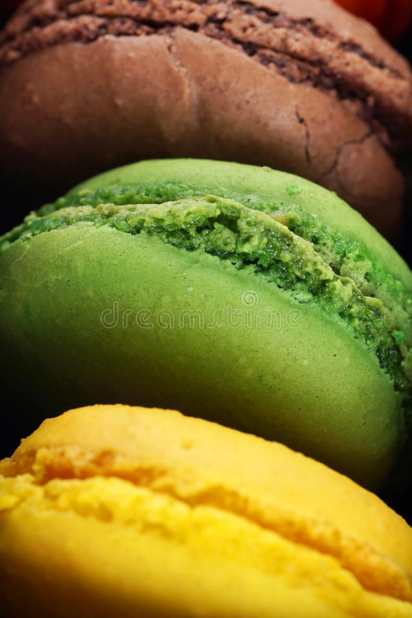 Download Macro Of Delicious Macaroons Stock Image - Image: 33147705