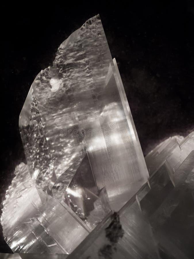 Macro di cristallo immagini stock