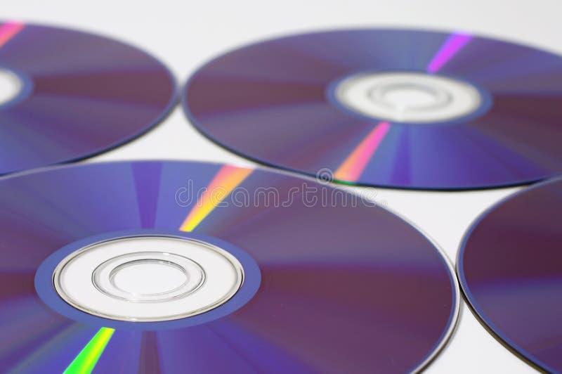 Macro di Dvd immagini stock
