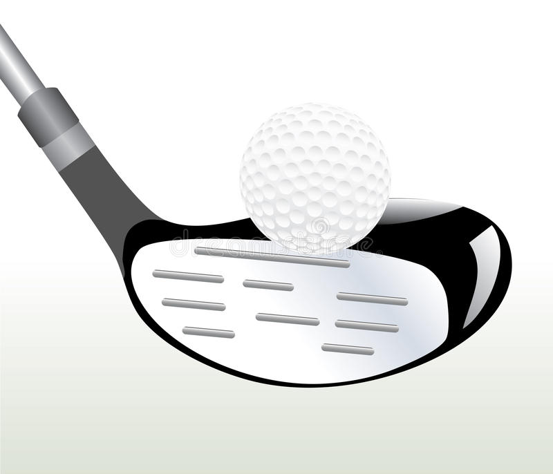 Macro di golf royalty illustrazione gratis