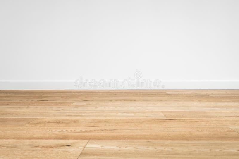 Macro di legno del pavimento - primo piano del pavimento di parquet fotografia stock libera da diritti