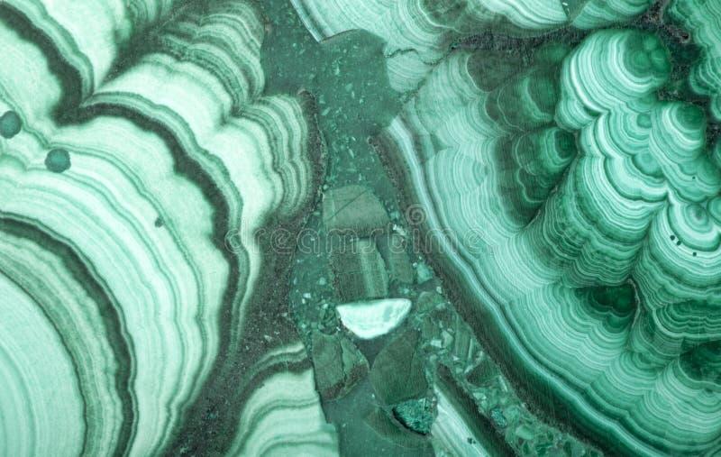 Macro di struttura verde della malachite fotografie stock