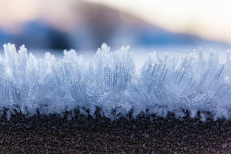Macro do gelo imagens de stock