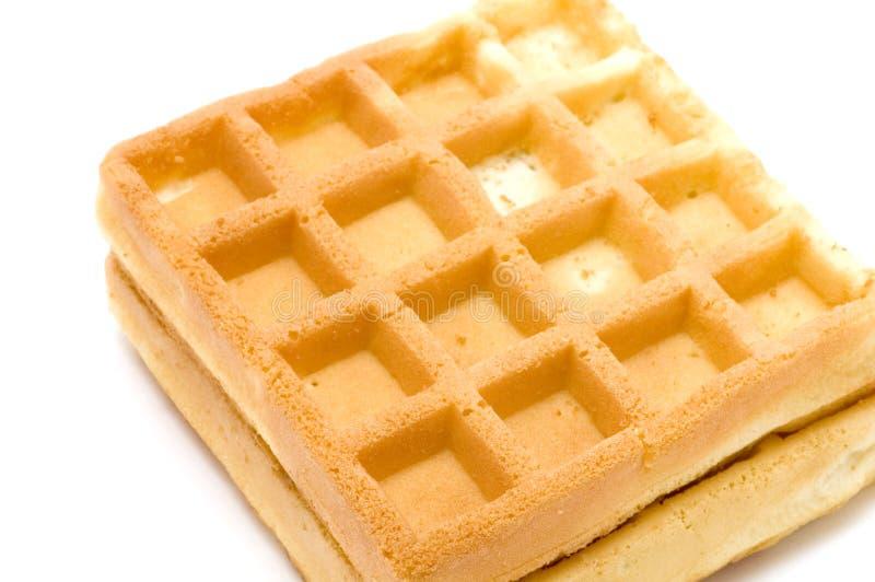 Macro do Waffle fotos de stock