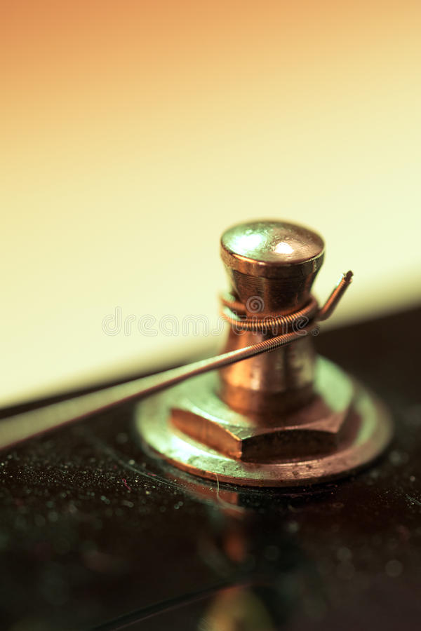 Free Macro Electric Guitar String And Tuning Peg Royalty Free Stock Photo - 34697815