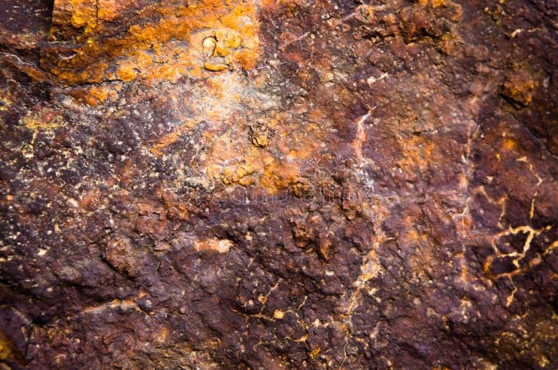 Macro Elementenrots, textuur van steen stock fotografie