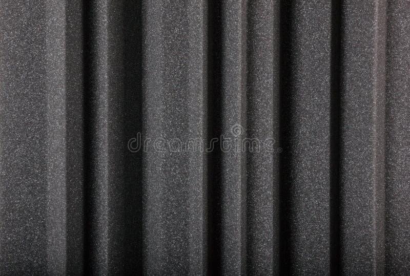 Macro fondo della parete della schiuma fonoisolante fotografia stock libera da diritti