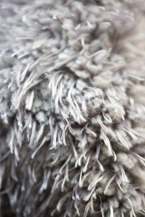 Macro fourrure de tapis image stock