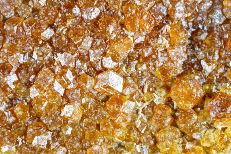 Macro fucilazione della pietra preziosa naturale La struttura di eudialyte minerale sottragga la priorità bassa immagine stock libera da diritti