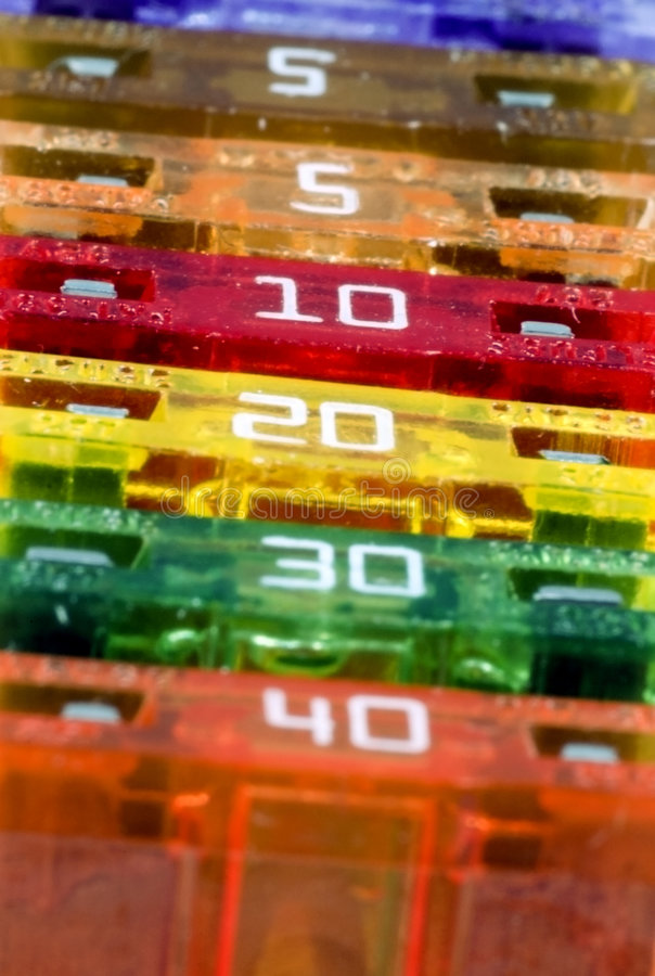 Macro Fuses - Wide Focus stock images