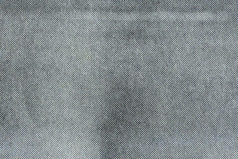 Macro of grey halftone dots on newsprint royalty free stock photography