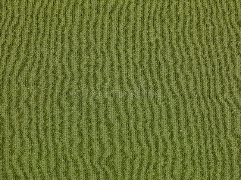 Macro groene sweater royalty-vrije stock foto's