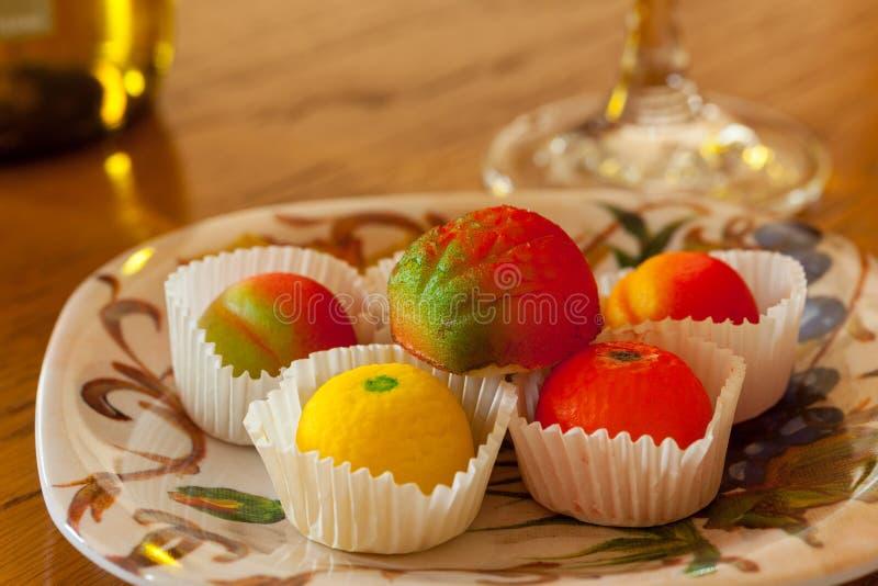 Download Macro Image Of Marzipan Fruit Candies Stock Image - Image: 25563139
