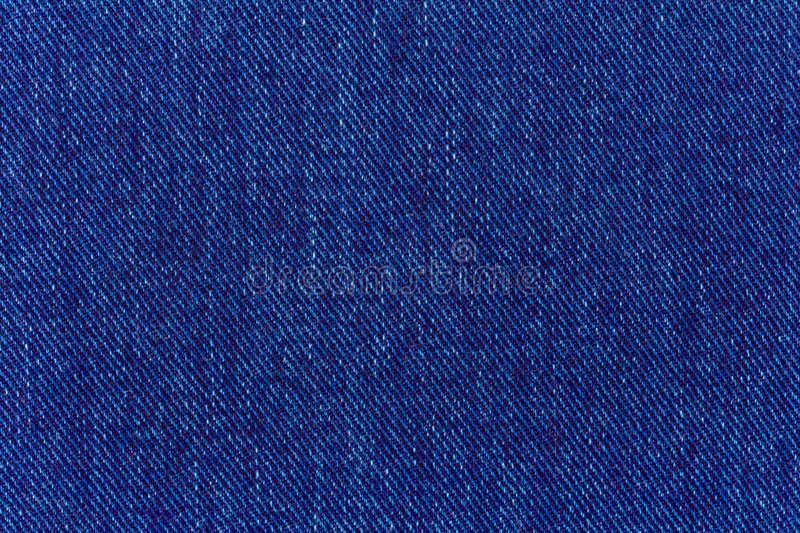 Macro Of Jeans Denim Royalty Free Stock Photography