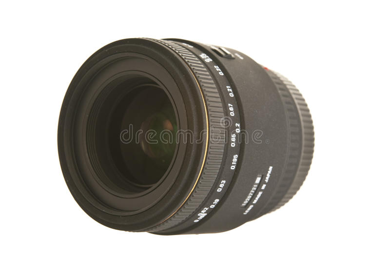 Macro Lens. For DSLR camera royalty free stock photography
