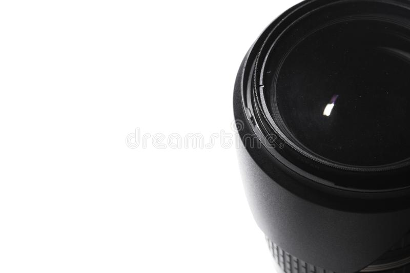 Macro lens Photos. White background royalty free stock photography