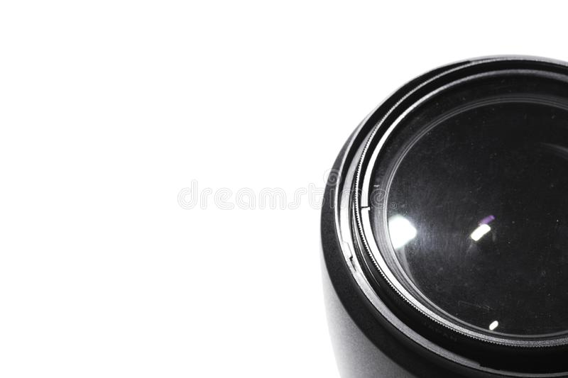 Macro lens Photos. White background royalty free stock photos