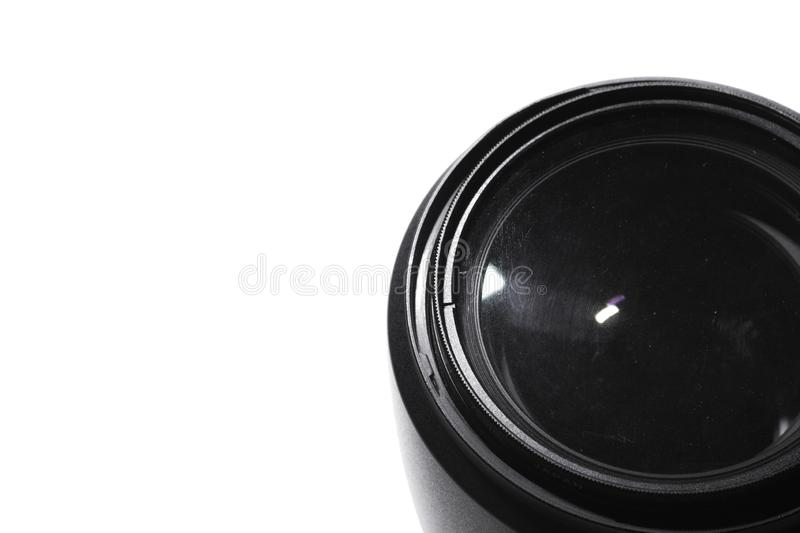 Macro lens Photos. White background stock photography
