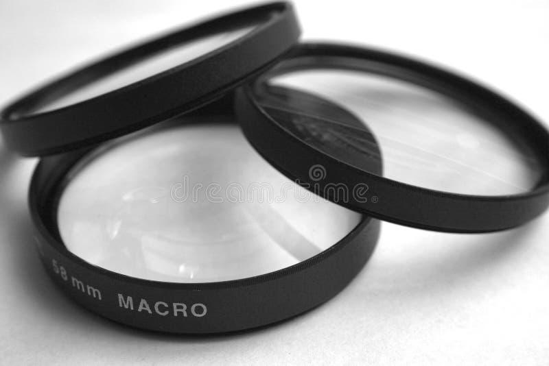 Macro Lenses stock image