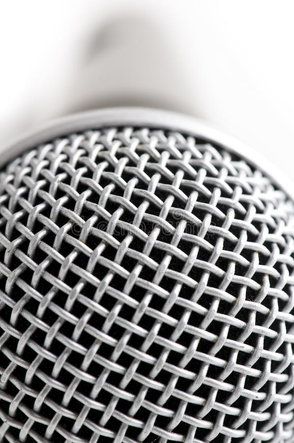 Download Macro microphone stock photo. Image of retro, object - 17920896