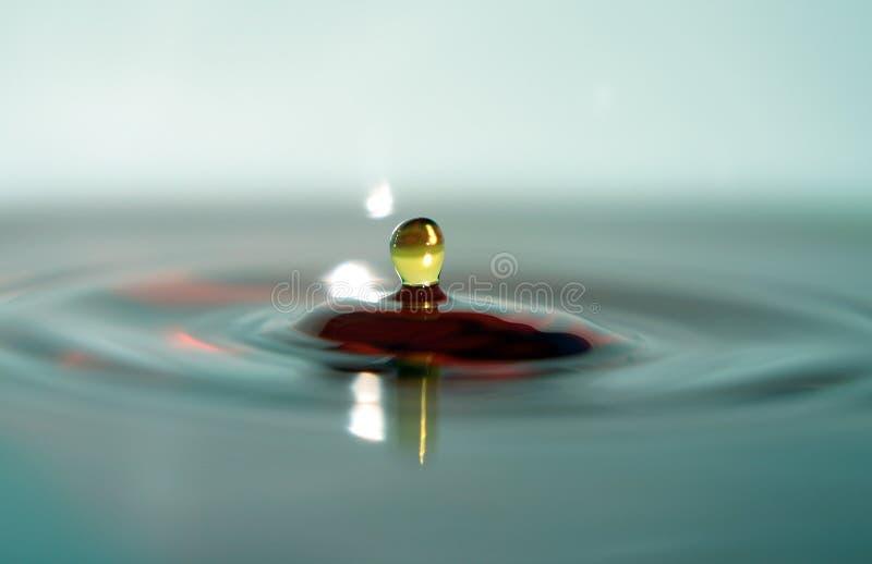 Macro Multicolor da água imagem de stock royalty free