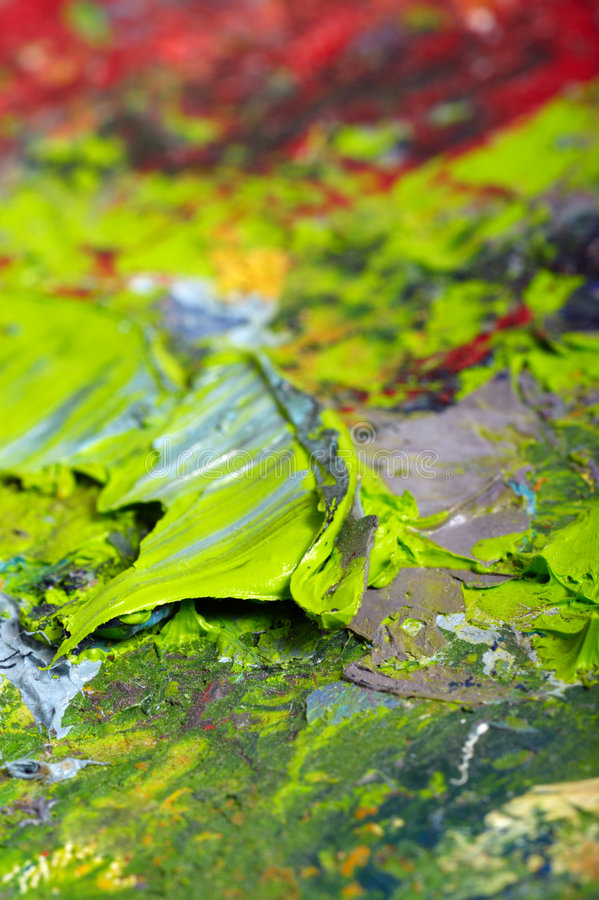 Download Macro palette stock image. Image of colored, paint, painting - 9177607