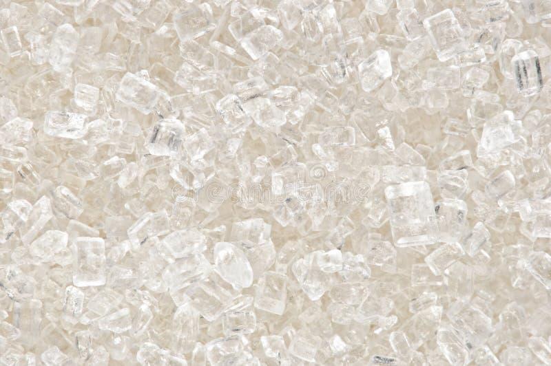 Macro photo of granules of sugar stock photo