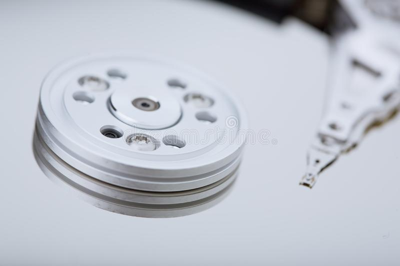 Download Macro Photo - Hard Disk Drive Stock Image - Image of archive, harddrive: 8268077