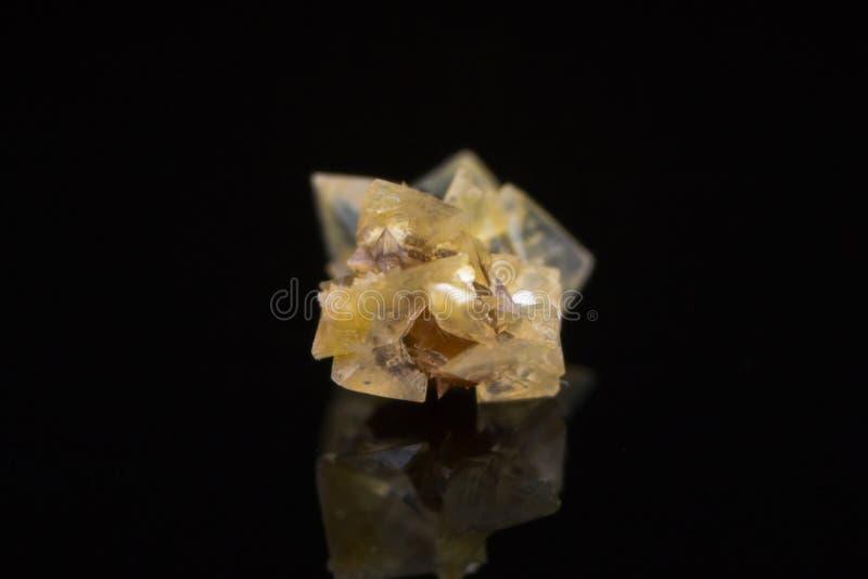Macro photo of a small kidney stone. C stock photo