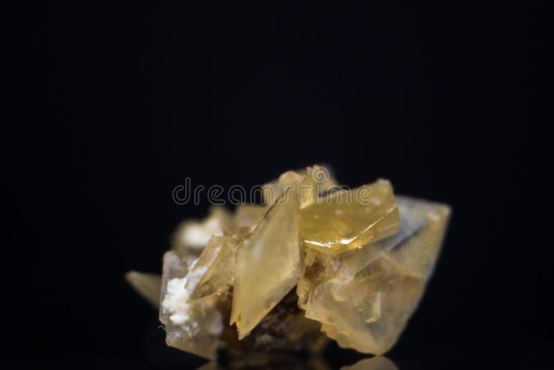 Macro photo of a small kidney stone. C royalty free stock image